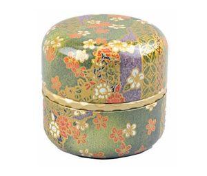 Lata floral japonesa