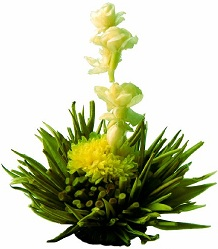 Blooming tea flor de té a granel