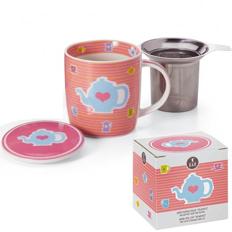Taza Teapot con filtro